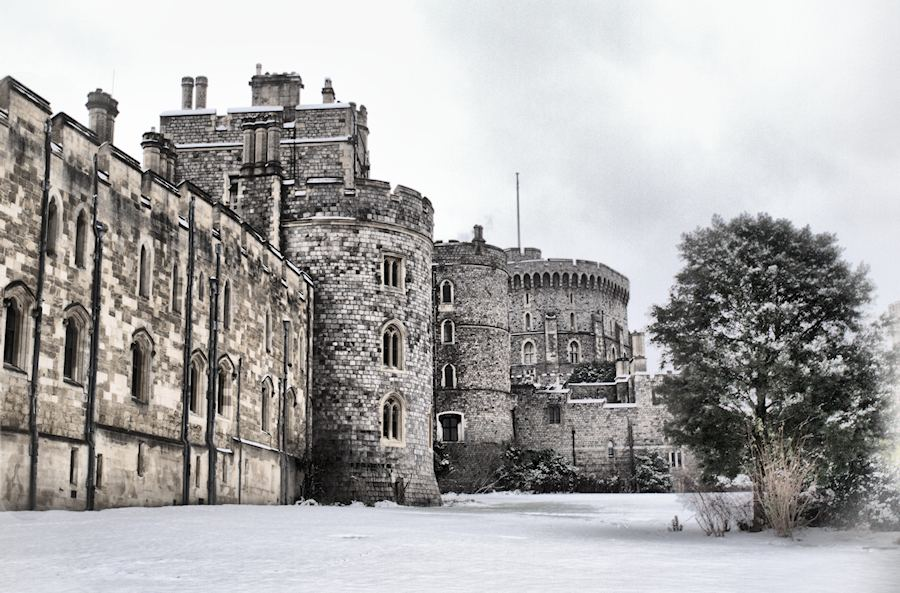 Windsor Castle in Winter