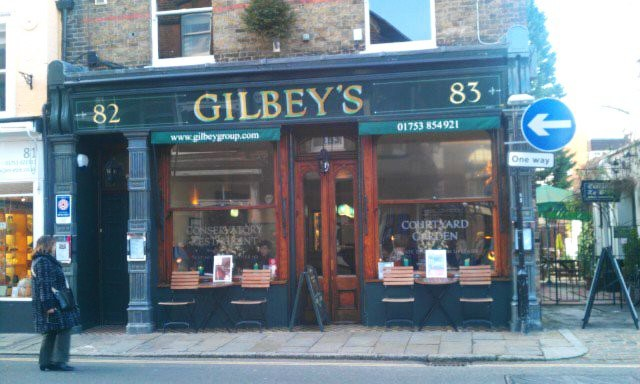 Gilbeys on Eton High Street