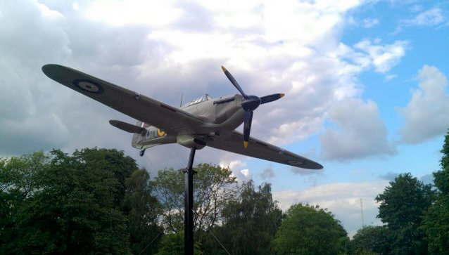Hawker Hurricaine at Windsor - Alexandra Park