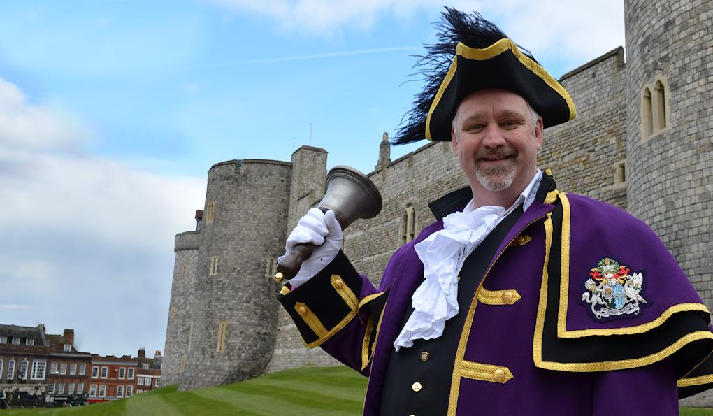 town crier of Windsor and Maidenhead Chris Brown