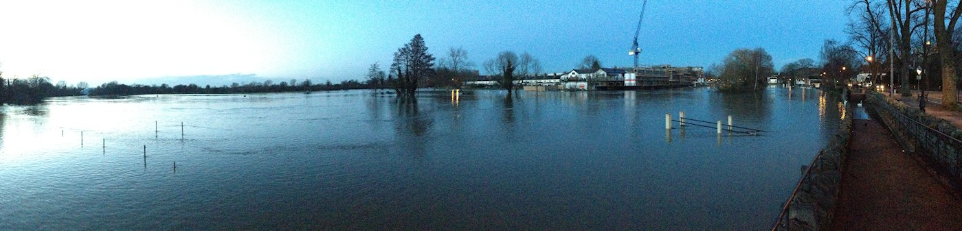 windsor flood panorama