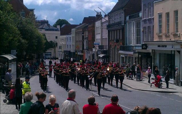 marching band in windsor