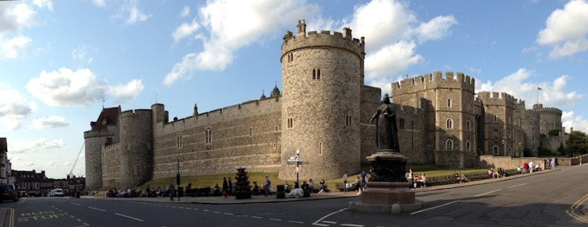 windsor castle panorama