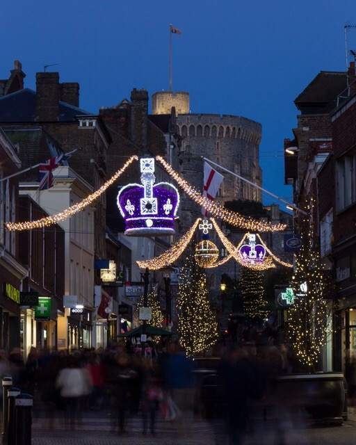 Windsor Christmas lights