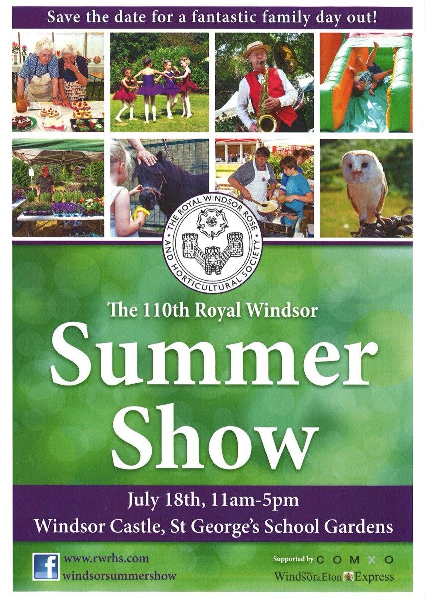 Royal Windsor Flower Show 2015