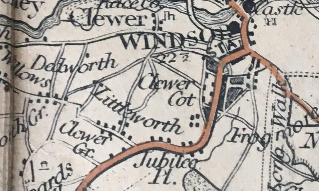 littleworth on the map