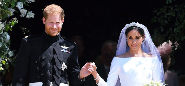 Harry and Meghan's Wedding clothes to be displayed at The Castle