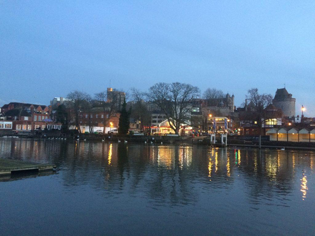 River Thames, Dusk